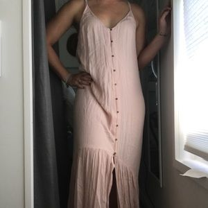 Blush maxi billabong dress